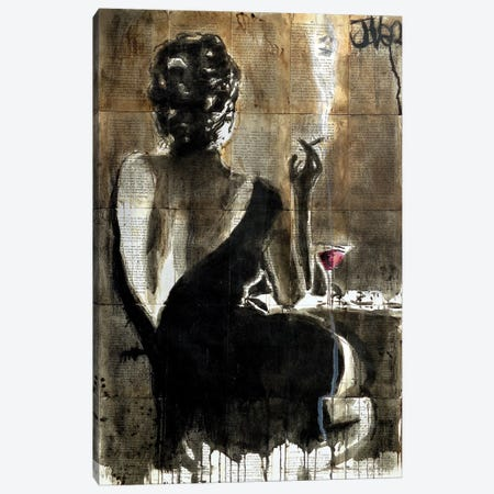 Cocktail Canvas Print #LJR147} by Loui Jover Canvas Art Print