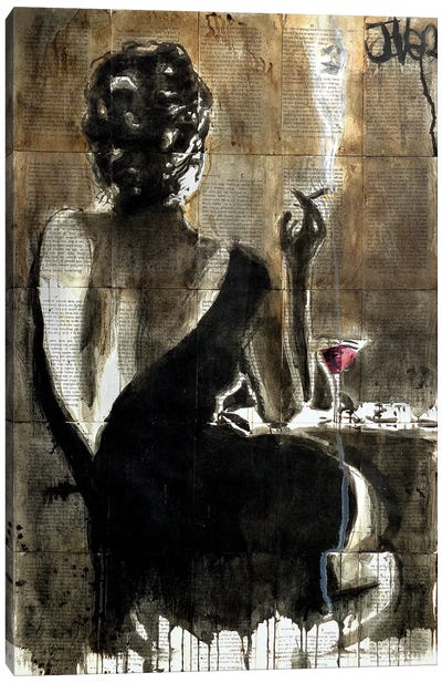 Cocktail Canvas Art Print