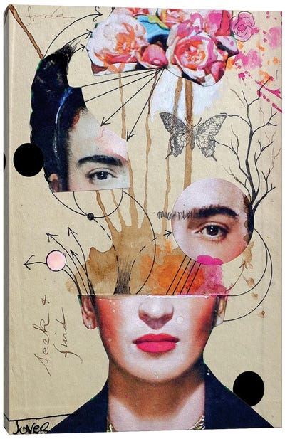 Frida For Beginners Canvas Art Print