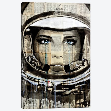 New Frontier Canvas Print #LJR150} by Loui Jover Art Print