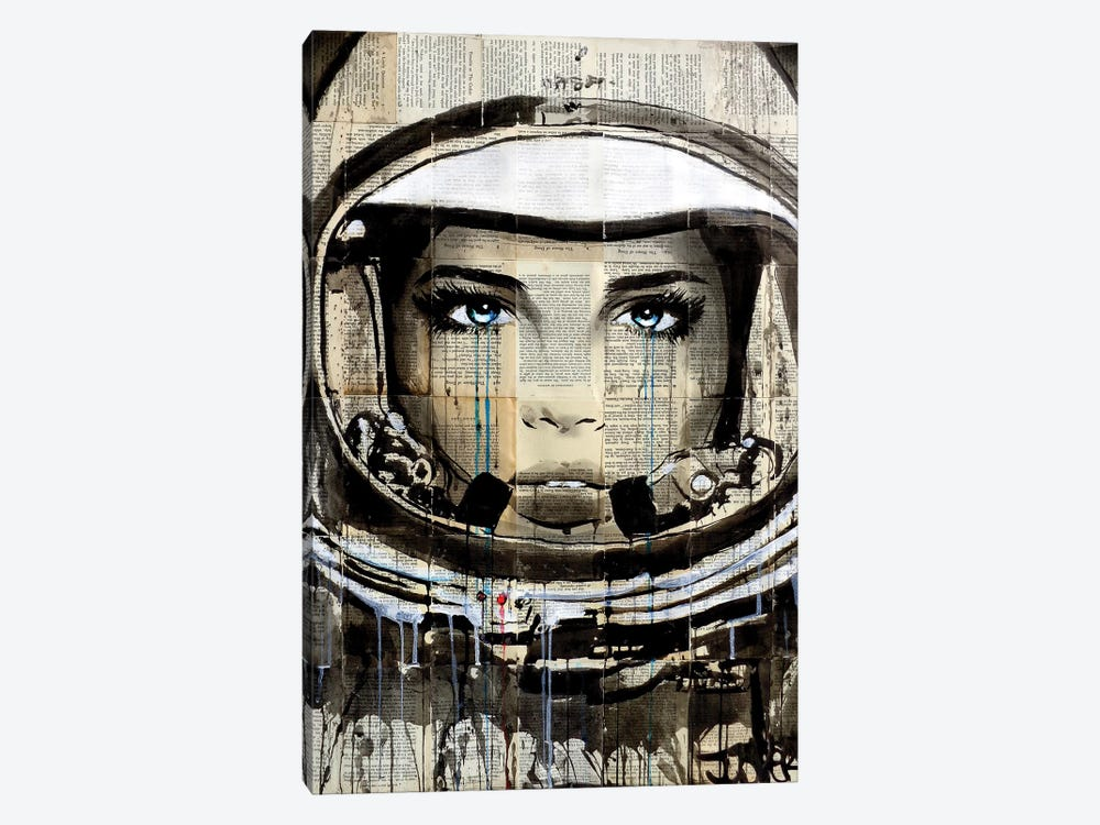 New Frontier by Loui Jover 1-piece Canvas Art Print