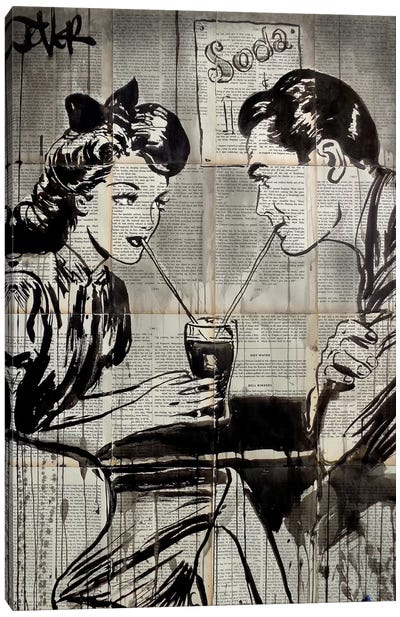 Soda Pop Canvas Art Print