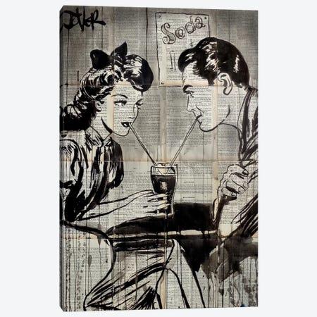 Soda Pop Canvas Print #LJR152} by Loui Jover Art Print