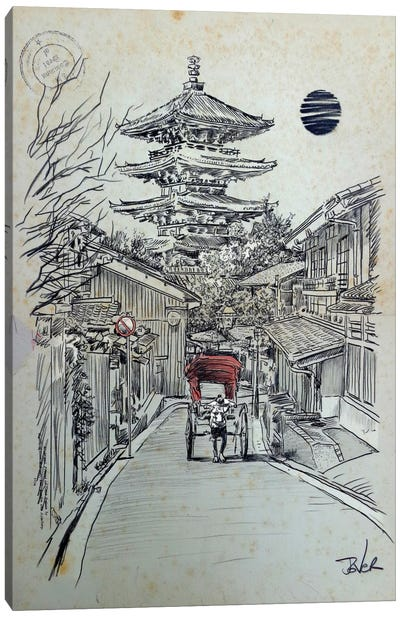 Another Kyoto Moment Canvas Print #LJR156