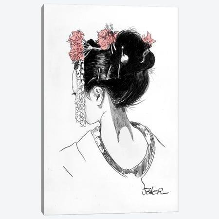 Atsuko Canvas Print #LJR157} by Loui Jover Canvas Art