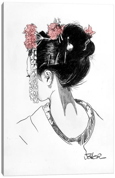 Atsuko Canvas Art Print