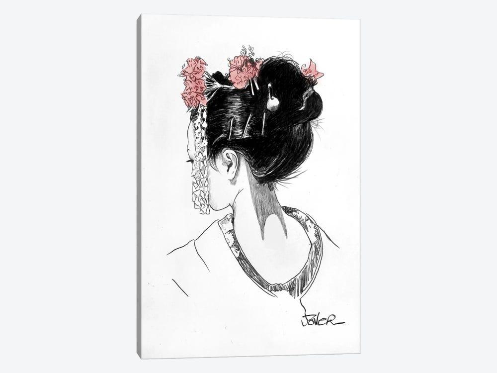 Atsuko by Loui Jover 1-piece Canvas Wall Art