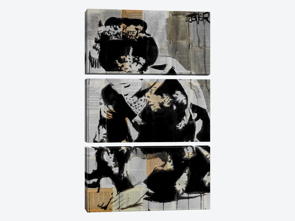 Ceremony by Loui Jover 3-piece Canvas Wall Art