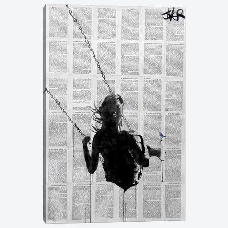 Notes Canvas Print #LJR15} by Loui Jover Canvas Artwork