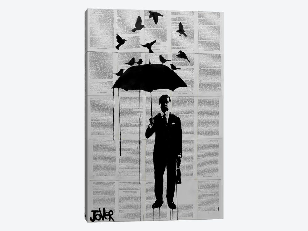 Just A Perfect Day by Loui Jover 1-piece Canvas Art