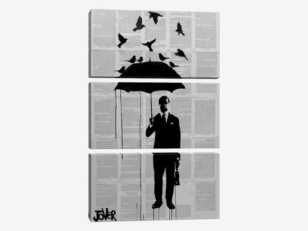 Just A Perfect Day by Loui Jover 3-piece Canvas Artwork