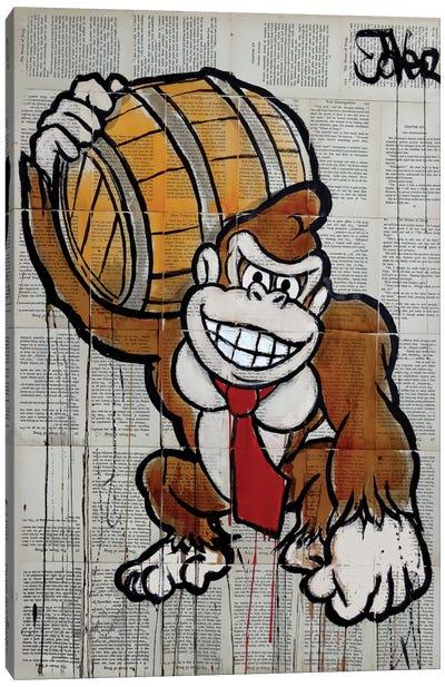 D. Kong Canvas Art Print