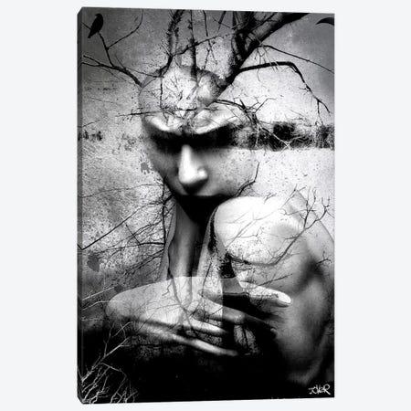 Less Like You, More Like Me Canvas Print #LJR169} by Loui Jover Canvas Art