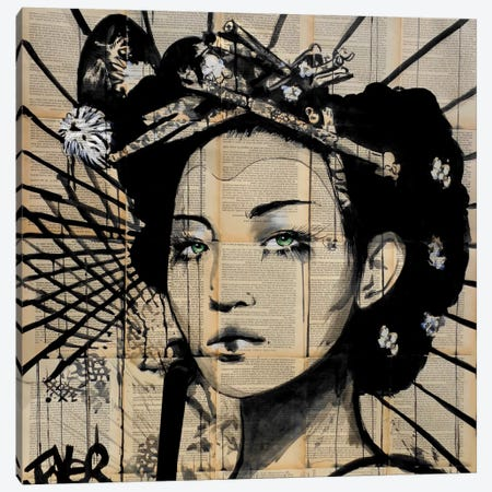 Lotus Canvas Print #LJR171} by Loui Jover Canvas Art Print
