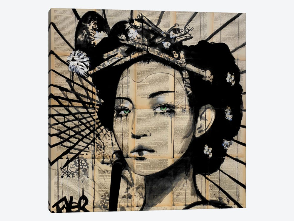 Lotus by Loui Jover 1-piece Canvas Artwork