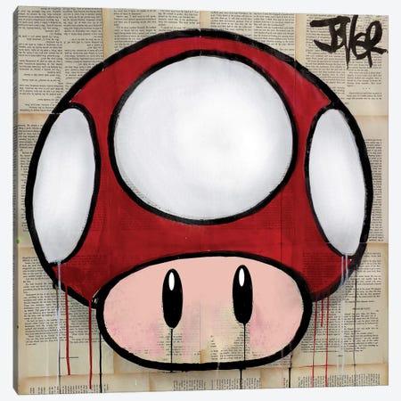 Mushroom Canvas Print #LJR174} by Loui Jover Canvas Wall Art
