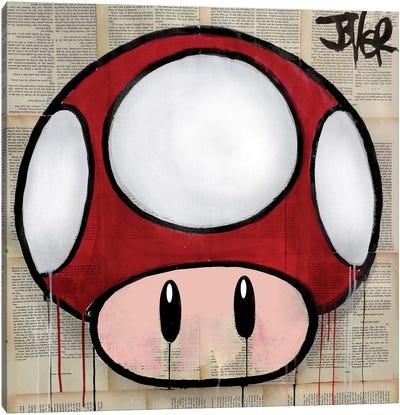 Mushroom Canvas Art Print