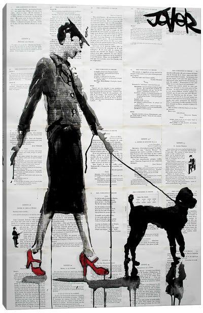 Poodle Canvas Print #LJR178
