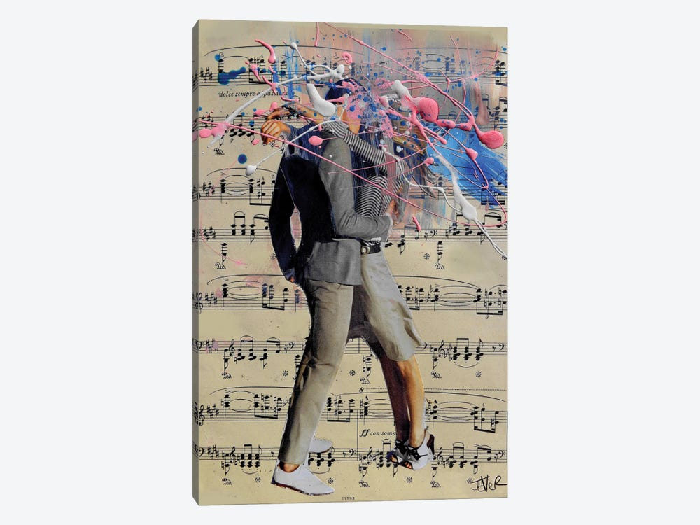 The Art Of Kissing 1-piece Canvas Artwork