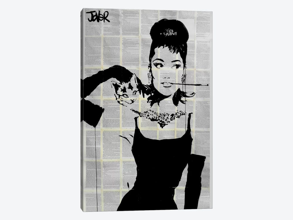 Tiffany's by Loui Jover 1-piece Canvas Print
