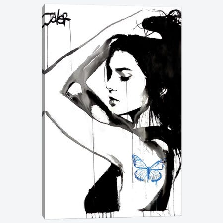 Blue Dominions Canvas Print #LJR189} by Loui Jover Canvas Artwork