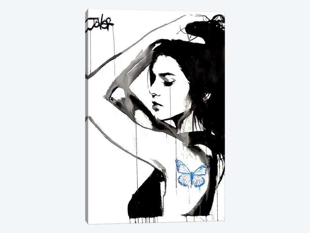 Blue Dominions by Loui Jover 1-piece Art Print