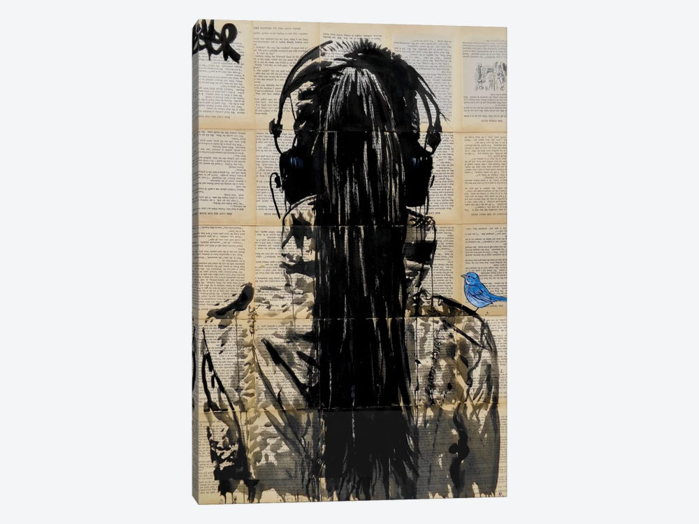 Sonic by Loui Jover 1-piece Canvas Artwork