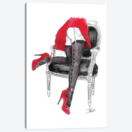 Bottoms Up Canvas Print #LJR190} by Loui Jover Canvas Art Print