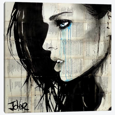 Bright Ecstacy Canvas Print #LJR191} by Loui Jover Art Print