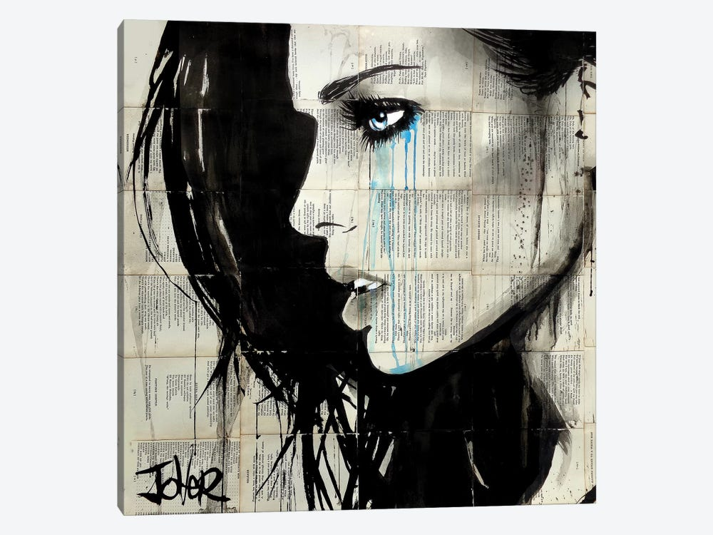 Bright Ecstacy by Loui Jover 1-piece Canvas Artwork