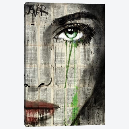 Definition Canvas Print #LJR192} by Loui Jover Canvas Print