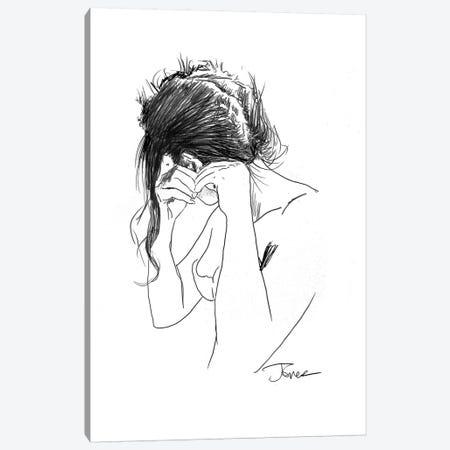 Earring Canvas Print #LJR194} by Loui Jover Canvas Art