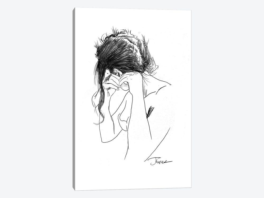 Earring by Loui Jover 1-piece Art Print