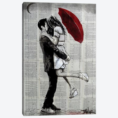 Forever Romantics Canvas Print #LJR196} by Loui Jover Canvas Wall Art