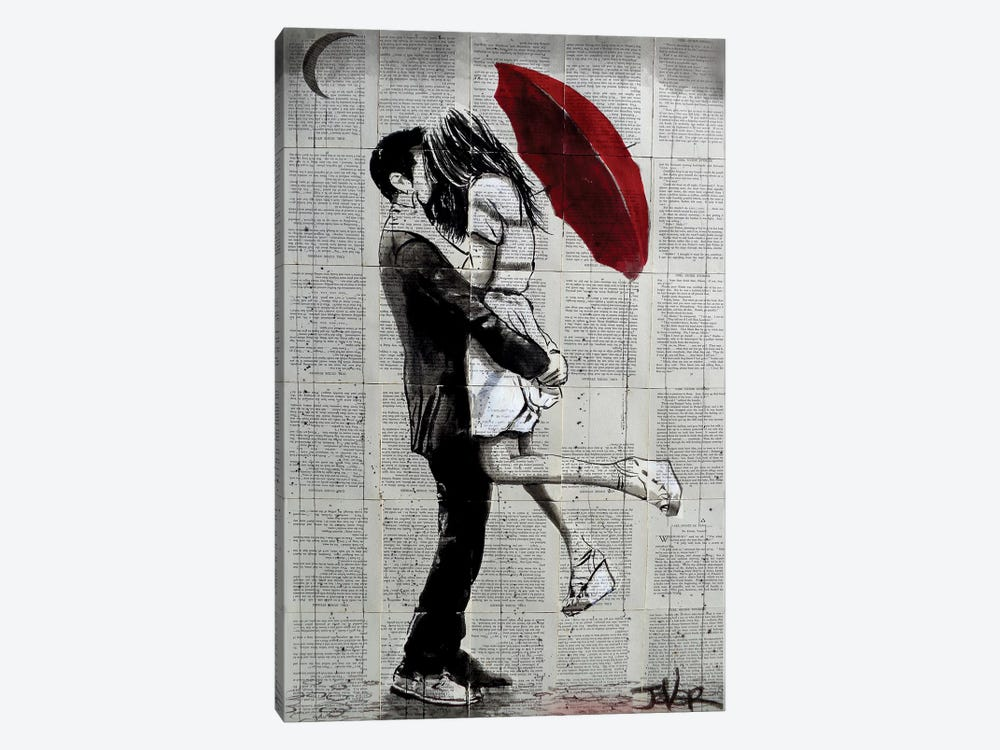 Forever Romantics by Loui Jover 1-piece Art Print