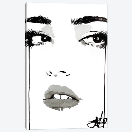 Hey Canvas Print #LJR199} by Loui Jover Canvas Print