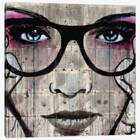 Specs Canvas Print #LJR19} by Loui Jover Art Print