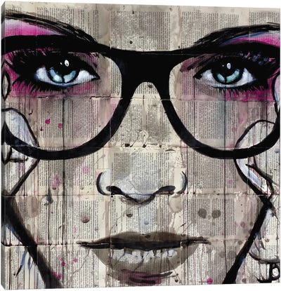Specs Canvas Art Print