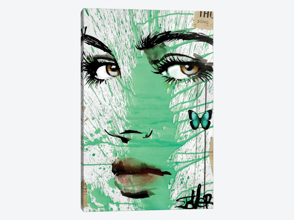 Into Green by Loui Jover 1-piece Canvas Artwork