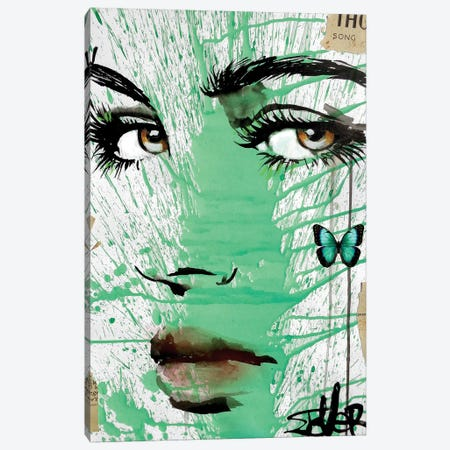 Into Green Canvas Print #LJR200} by Loui Jover Canvas Print