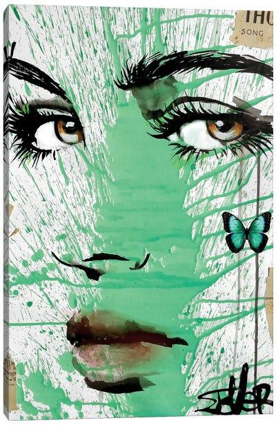 Into Green Canvas Art Print