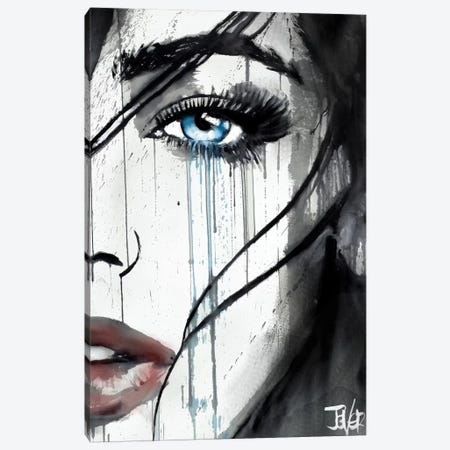 It Happens Canvas Print #LJR201} by Loui Jover Art Print