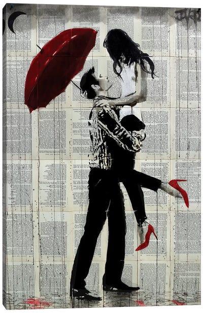 Love Rain Canvas Art Print