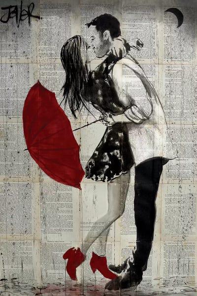 Never Mind The Rain Canvas Art By Loui Jover Icanvas