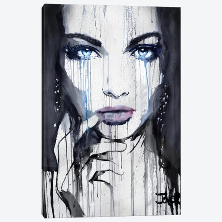 Nightwings Canvas Print #LJR204} by Loui Jover Canvas Artwork