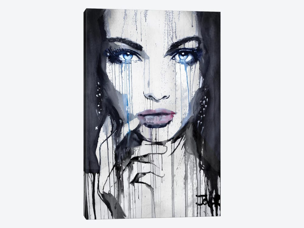 Nightwings by Loui Jover 1-piece Canvas Wall Art