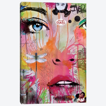 Nothing Happened Canvas Print #LJR205} by Loui Jover Canvas Artwork