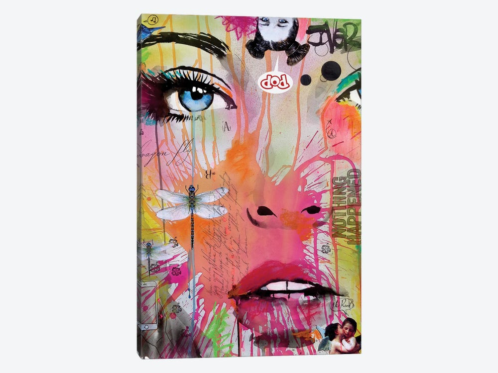 Nothing Happened by Loui Jover 1-piece Canvas Art Print