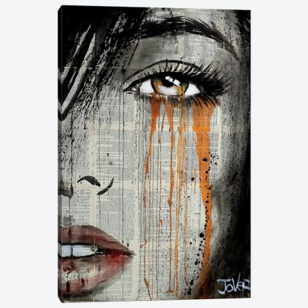 Orange Crush Canvas Print #LJR206} by Loui Jover Canvas Wall Art
