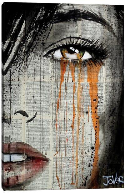 Orange Crush Canvas Art Print